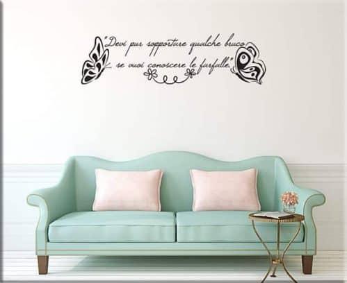 adesivi murali frase piccolo principe