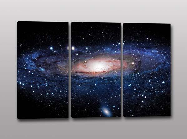 quadri moderni galassia andromeda stelle