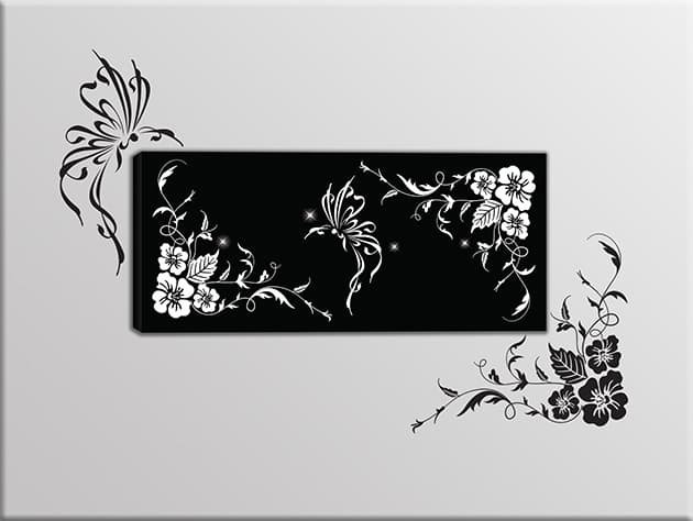 quadro-moderno-adesivi-murali-floreali