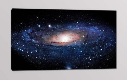 quadro moderno galassia andromeda stelle