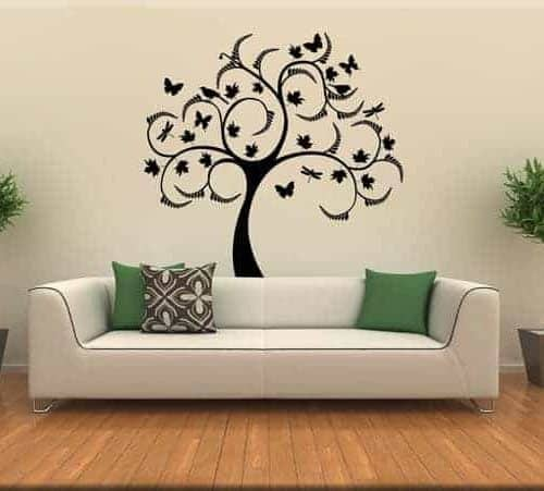 Wall stickers farfalle for Decorazioni muro