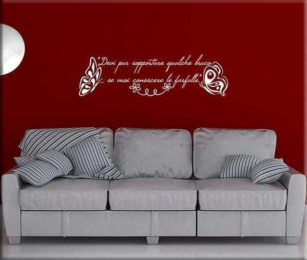 decorazioni adesive murali frase piccolo principe