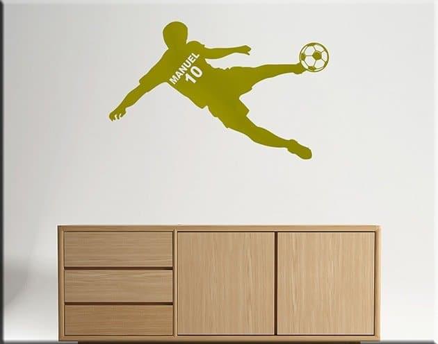 wall-sticker-calciatore-personalizzato