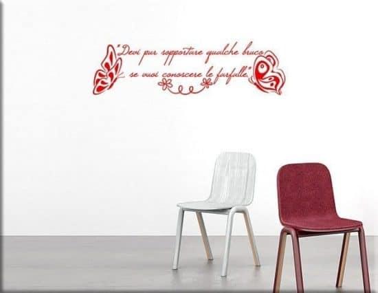 wall stickers frase piccolo principe