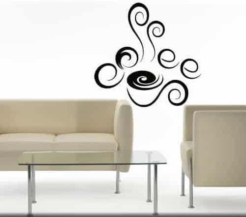 adesivi murali coffee bar caffe arredo design