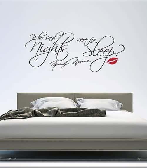 Adesivi murali camera da letto anche personalizzati - Adesivi parete camera da letto ...