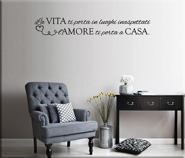 adesivi-murali-frase-vita-amore-arredo