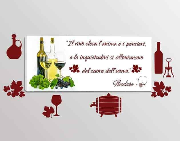 adesivi-murali-quadro-moderno-citazione-vino