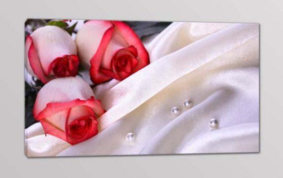 quadro moderno fiori rose stampa arredo