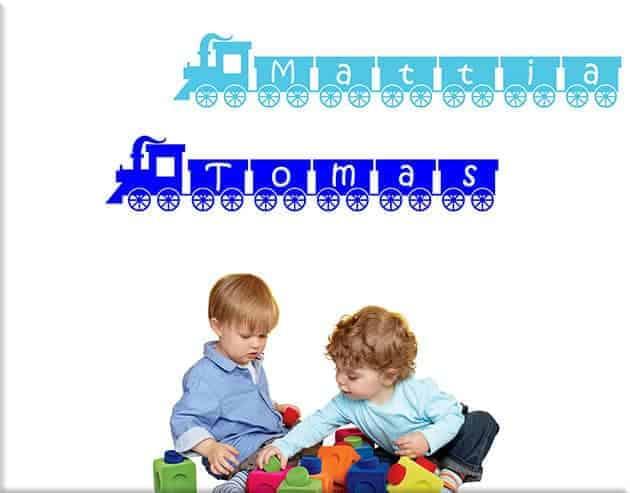 decorazioni-adesive-murali-trenino-personalizzato