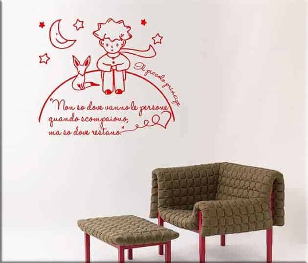 adesivi-murali-frase-il-piccolo-principe