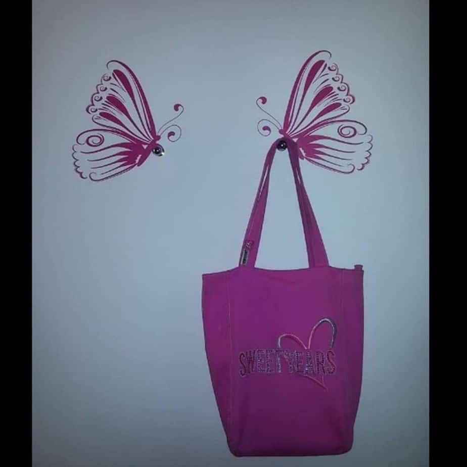 adesivi murali farfalle
