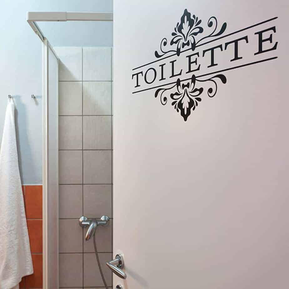 adesivi parete bagno