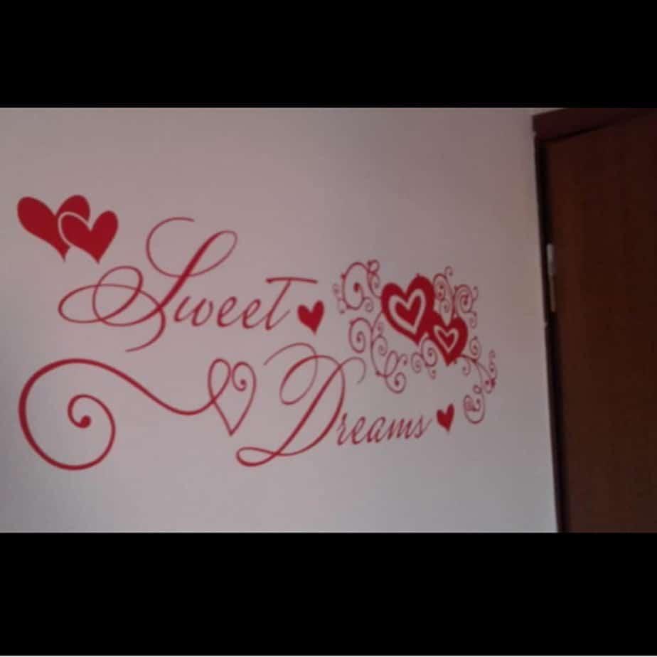 wall stickers adesivi parete camera da letto