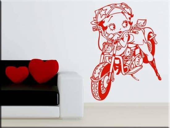 adesivi da parete Betty Boop
