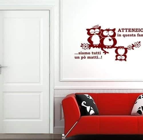 Adesivi aforismi e citazioni for Mattonelle adesive da parete
