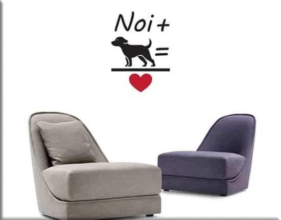 adesivi da parete love dog cane design
