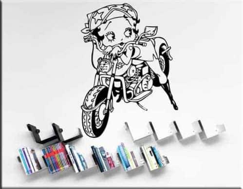 adesivi murali Betty Boop arredo tattoo