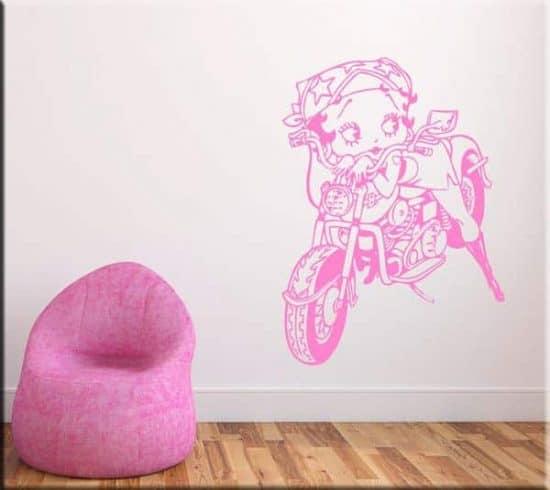decorazioni adesive murali Betty Boop