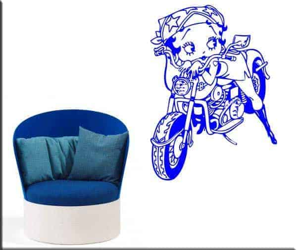 wall stickers Betty Boop