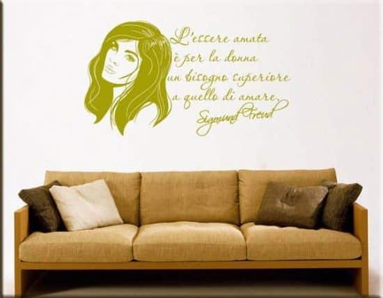 wall stickers citazione Sigmund Freud