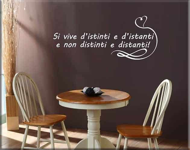 wall stickers frase love arredo design