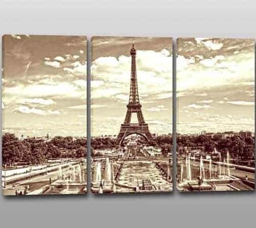 Quadri moderni Torre Eiffel stampe arredo