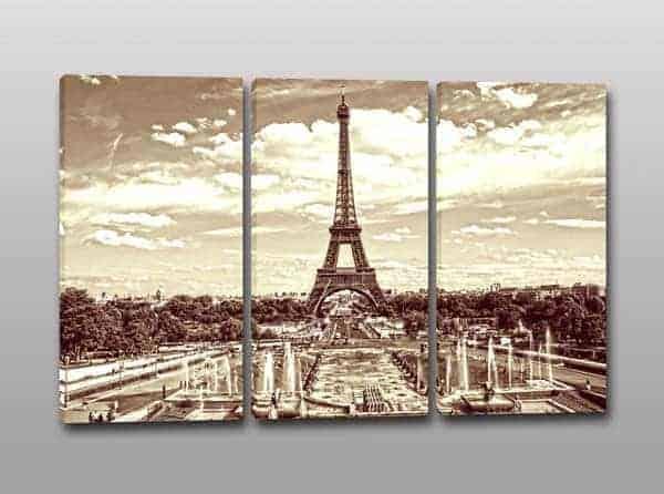 Quadri moderni torre eiffel stampe arredo for Stampe d arredo