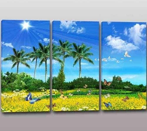 Quadri moderni paesaggio natura arredo