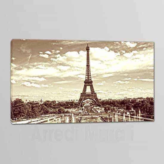Quadro moderno Torre Eiffel stampe arredo