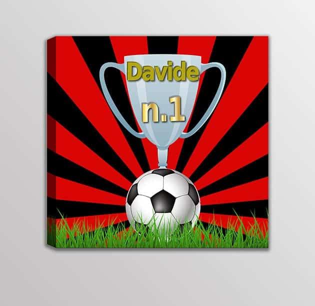 Quadro-moderno-nome-personalizzato-squadra-calcio-bambini