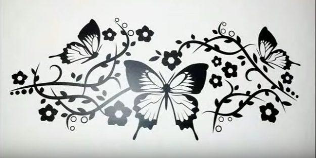 adesivi murali come si creano