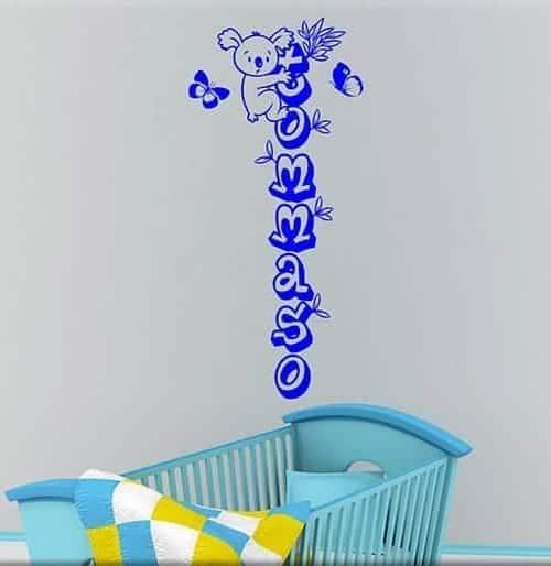 Adesivi murali personalizzati realizziamo ci che vuoi for Adesivi murali x bambini