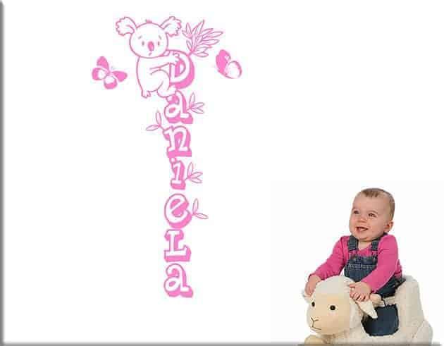 Adesivi murali personalizzati camerette bambini - Decorazioni murali camerette ...