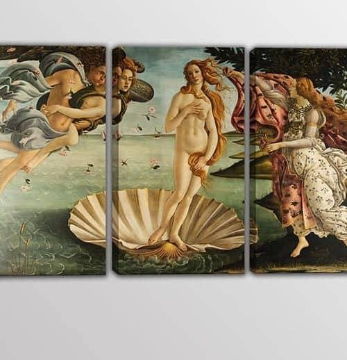 quadri moderni Sandro Botticelli La nascita di Venere