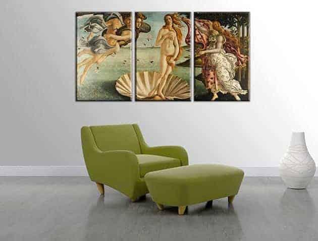 quadri moderni Sandro Botticelli nascita di Venere