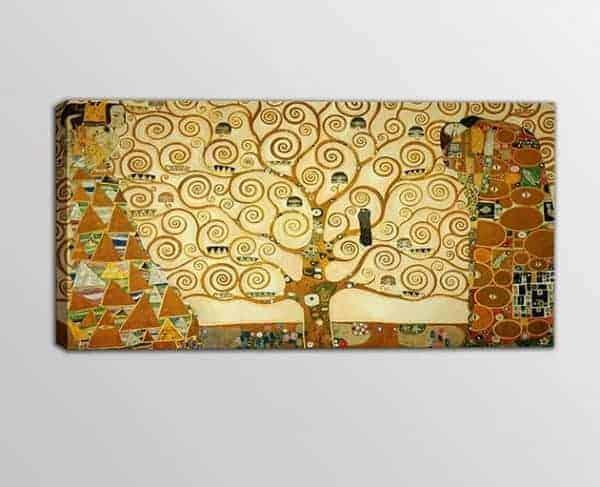 quadro moderno albero della vita di Klimt