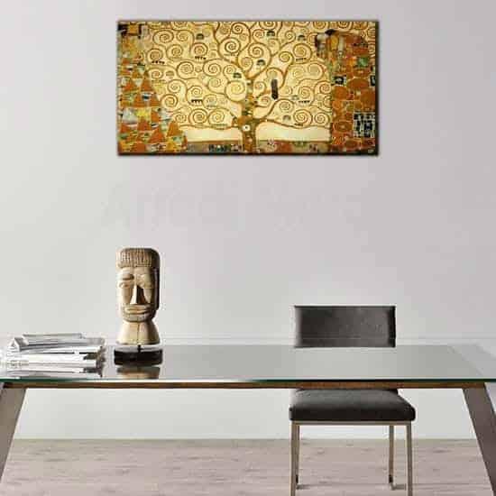 riproduzione l'Albero della Vita di Klimt