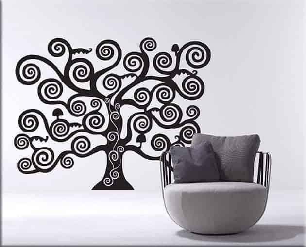 wall stickers albero della vita di Klimt
