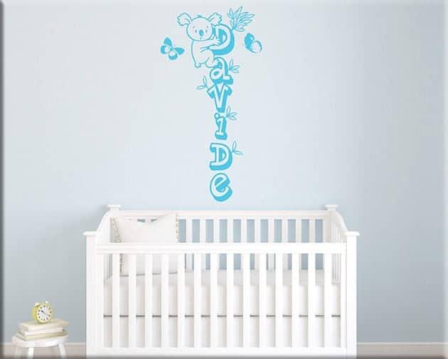 wall stickers personalizzati camerette bambini