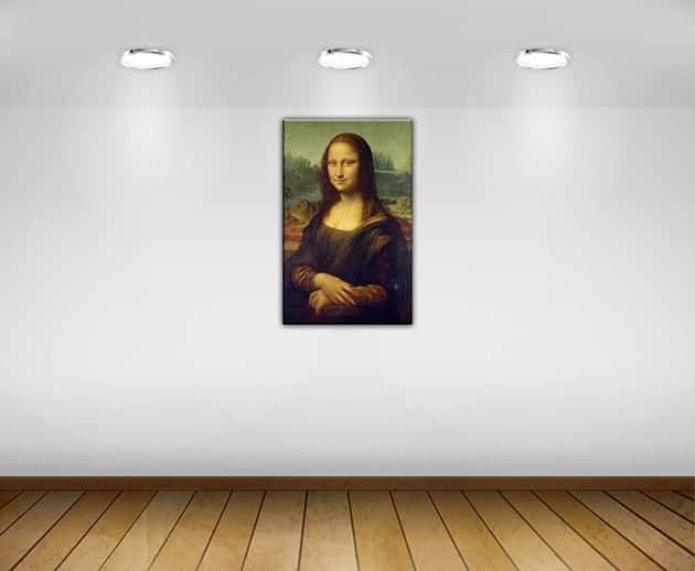 quadro moderno Monna Lisa Gioconda
