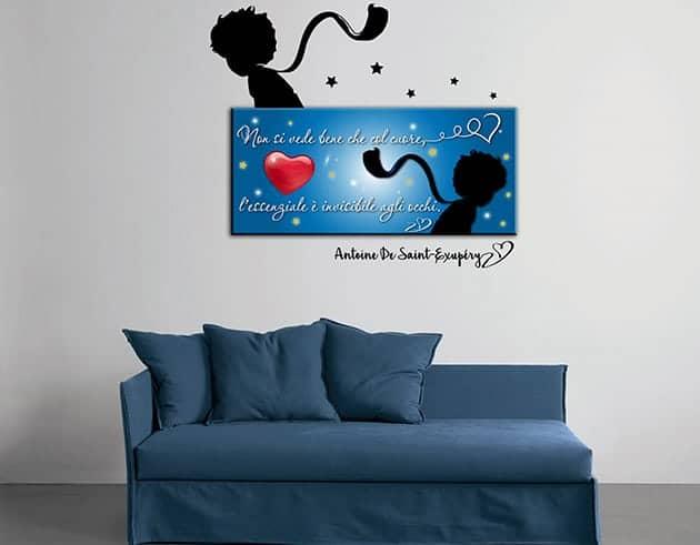 quadro-moderno-adesivi-murali-piccolo-principe