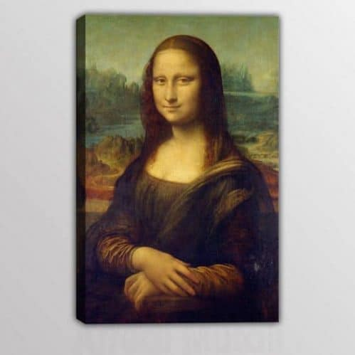 quadro riprodotto la Monna Lisa di Da Vinci