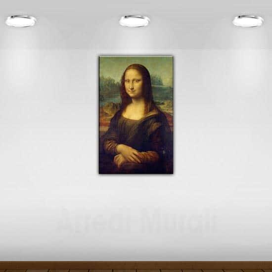 quadro riprodotto la Gioconda di Da Vinci
