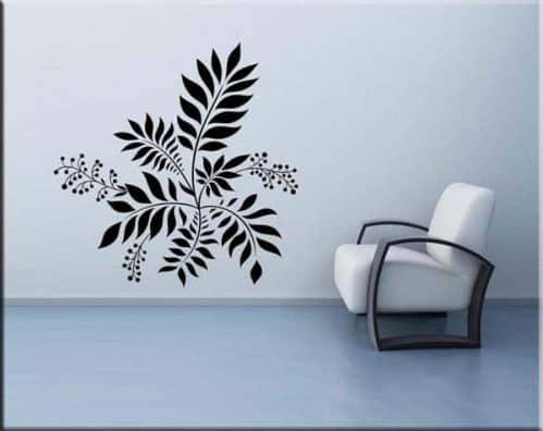 Adesivi da parete decorazione floreale arredo