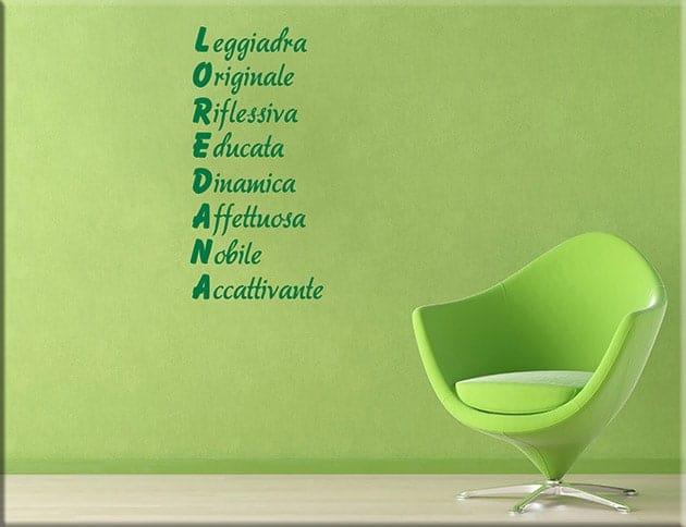 decorazioni-murali-acrostico-nome-personalizzato