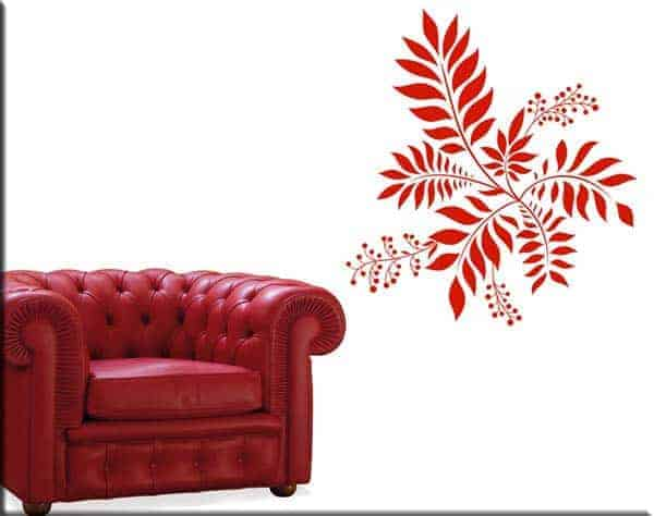 wall stickers decorazione floreale arredo