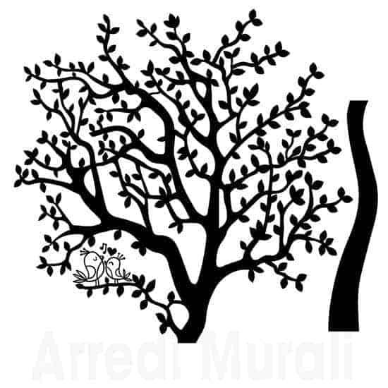 stickers albero come lo riceverai