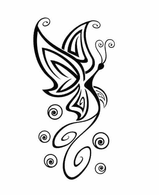 decorazioni da parete farfalla stilizzata arredo