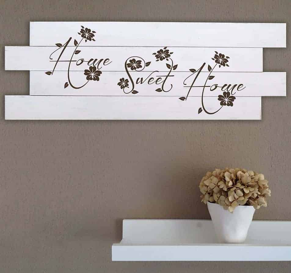 Pannelli da muro in legno shabby chic home for Quadri decorativi moderni